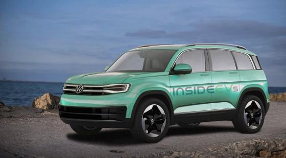 大众全新电动SUV假想图曝光 定位为紧凑级SUV