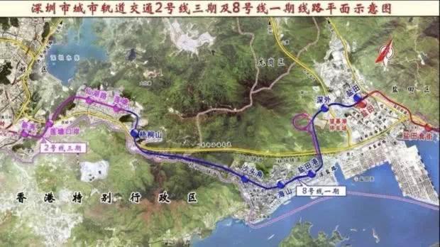 深圳地铁8号线首列车抵达深圳,明年可以坐地