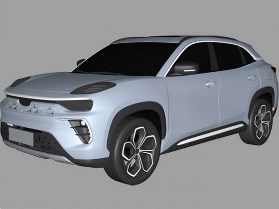 奇瑞全新电动SUV曝光 采用全铝车身结构