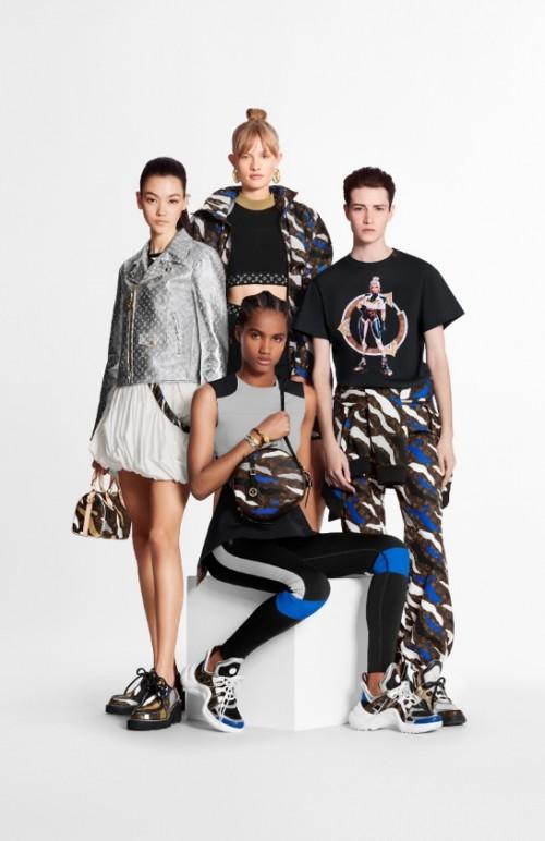 路易威登×英雄联盟联名系列,跨次元演绎竞技摩登时尚