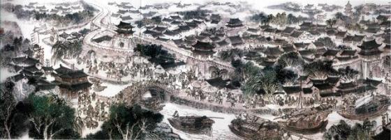 """谷建华图说古运河之""""扬州趣事"""""""