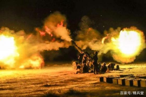中国造大炮发射卫星制导炮弹:一举全歼印军阵地,巴铁大获全胜
