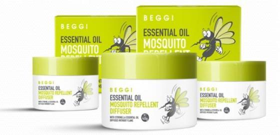 新西兰BEGGI发明全球首款驱蚊精灵 开创绿色香薰驱蚊新纪元