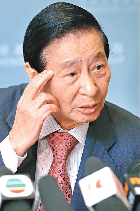 """91岁""""香港巴菲特""""李兆基拟退休 曾自称""""冒牌股神"""""""